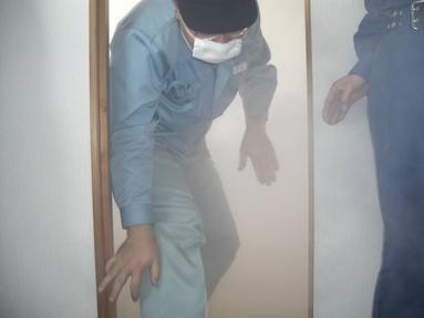 火災訓練 其の三 煙体験